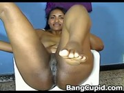 latin mother i toying her fur pie and squirting