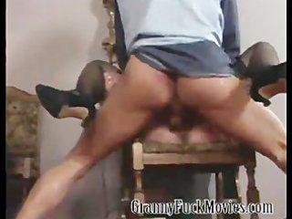 extraordinary hardcore granny orgy scene