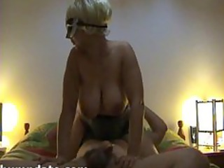 horny hottie with large milk cans gets fucked