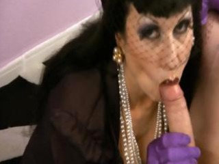 smoking cfnm fetish mother i in stockings jerking